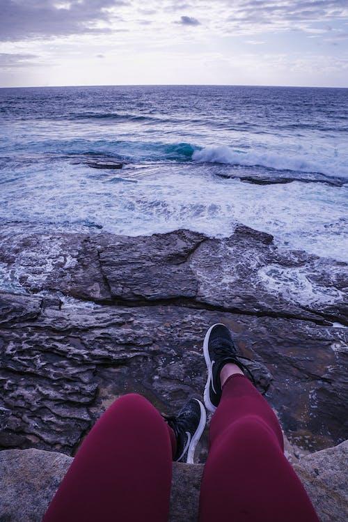 Gratis stockfoto met daglicht, golven, h2o, landschap