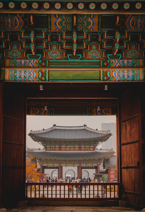 People Under Pagoda
