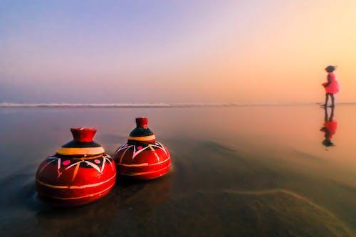 Foto profissional grátis de água, amplo, areia, baía de bengala