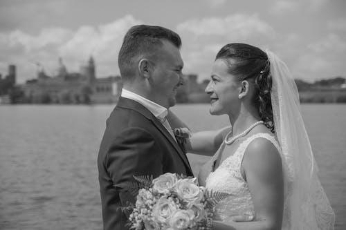 hausband, 결혼, 결혼식 부케, 만토바의 무료 스톡 사진