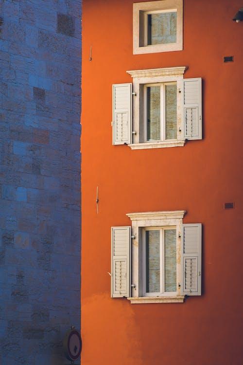 White Wooden Window Pane