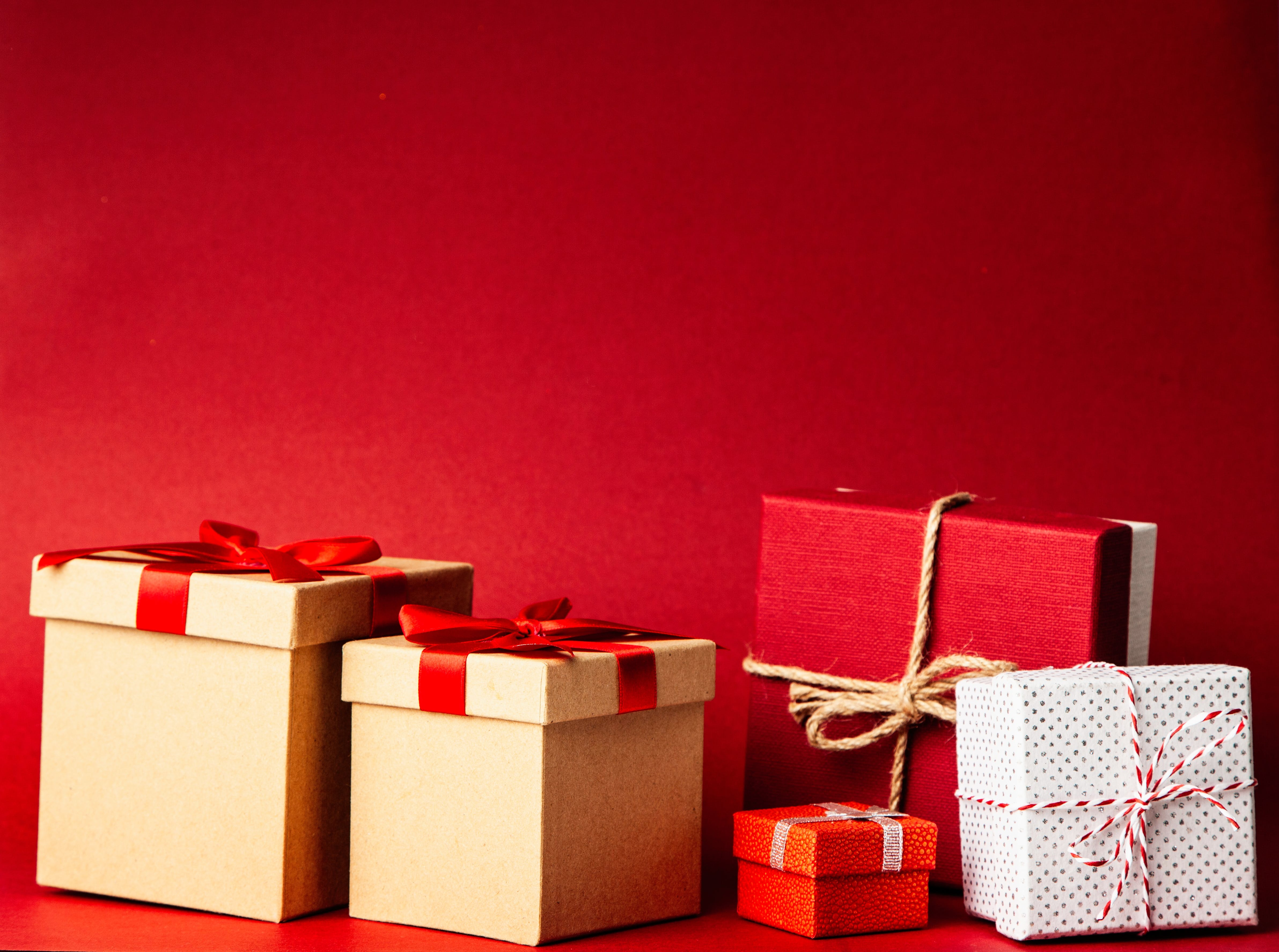 Several Gift Boxes