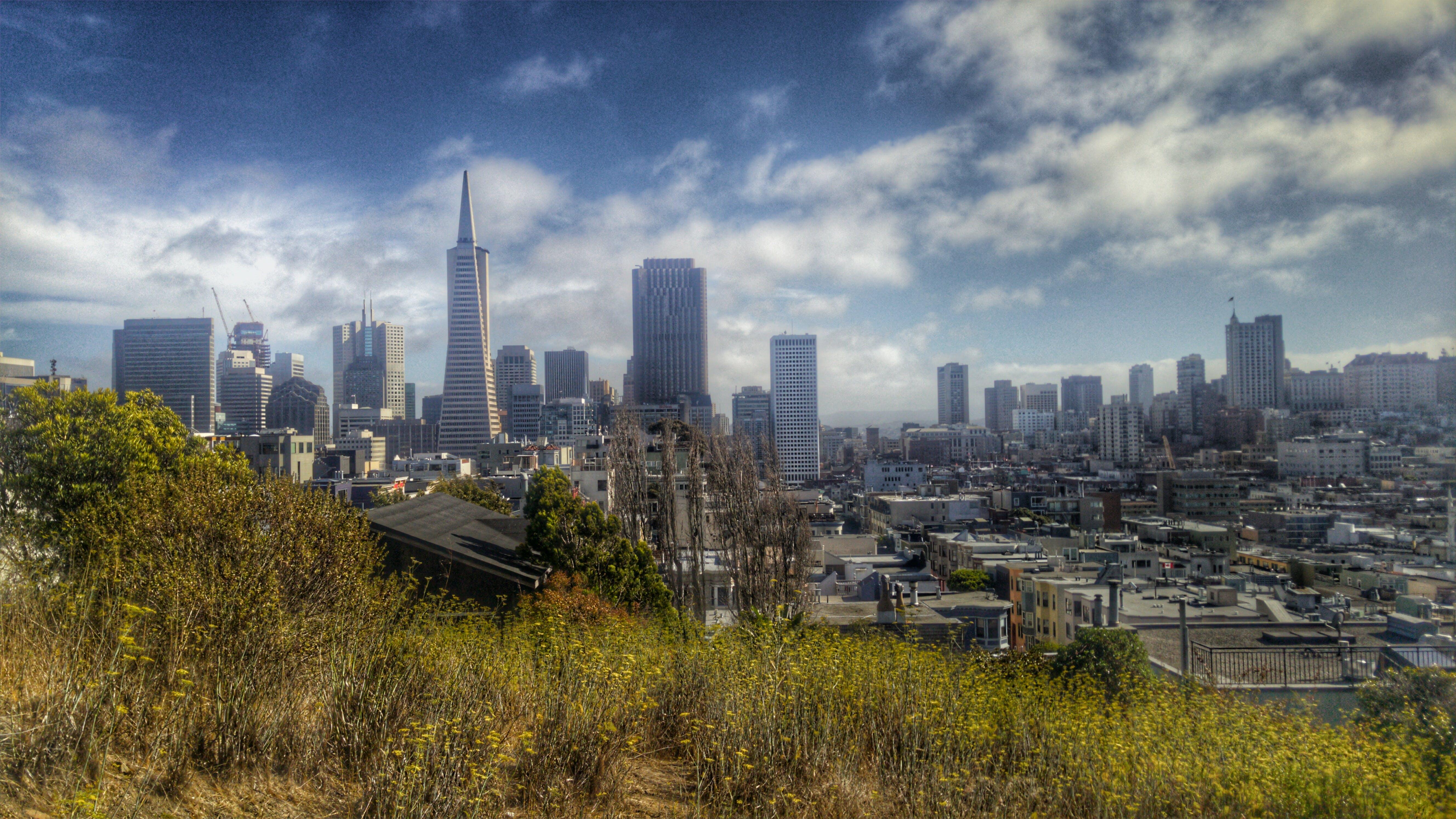 Gratis stockfoto met architectuur, binnenstad, gebouwen, horizon