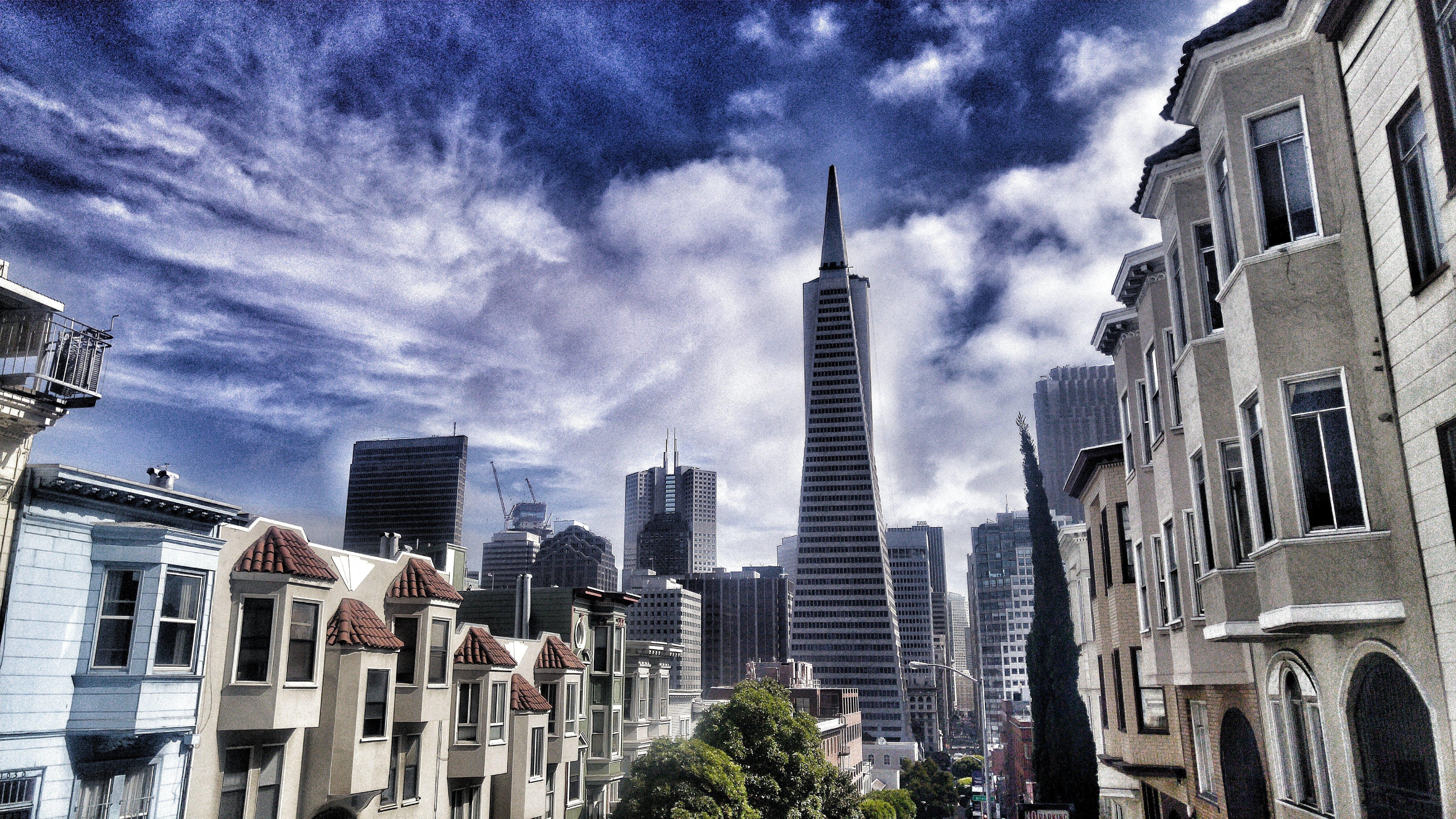 Foto profissional grátis de apartamentos, arquitetura, centro da cidade, cidade