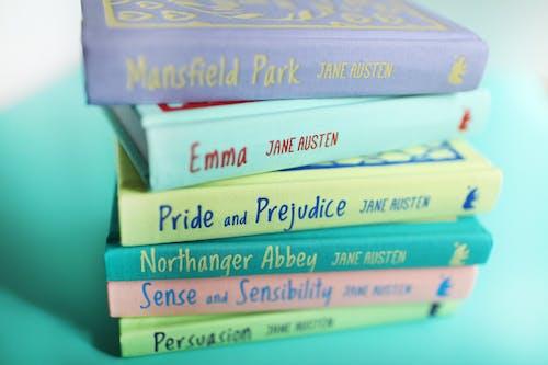 Бесплатное стоковое фото с mansfield park, аббатство нортангер, Ассорти, гордость и предубеждение