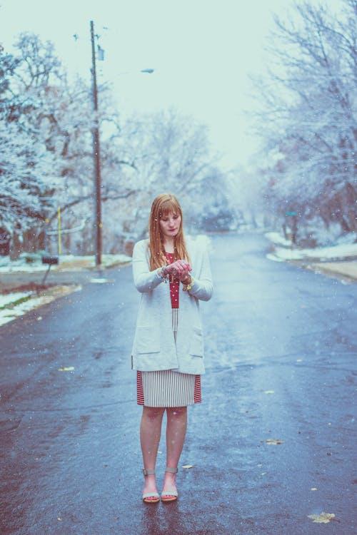 คลังภาพถ่ายฟรี ของ คน, ถนน, น่ารัก, ผู้หญิง