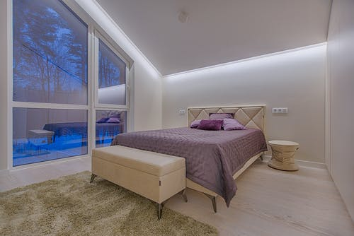 寝室の無料の写真素材
