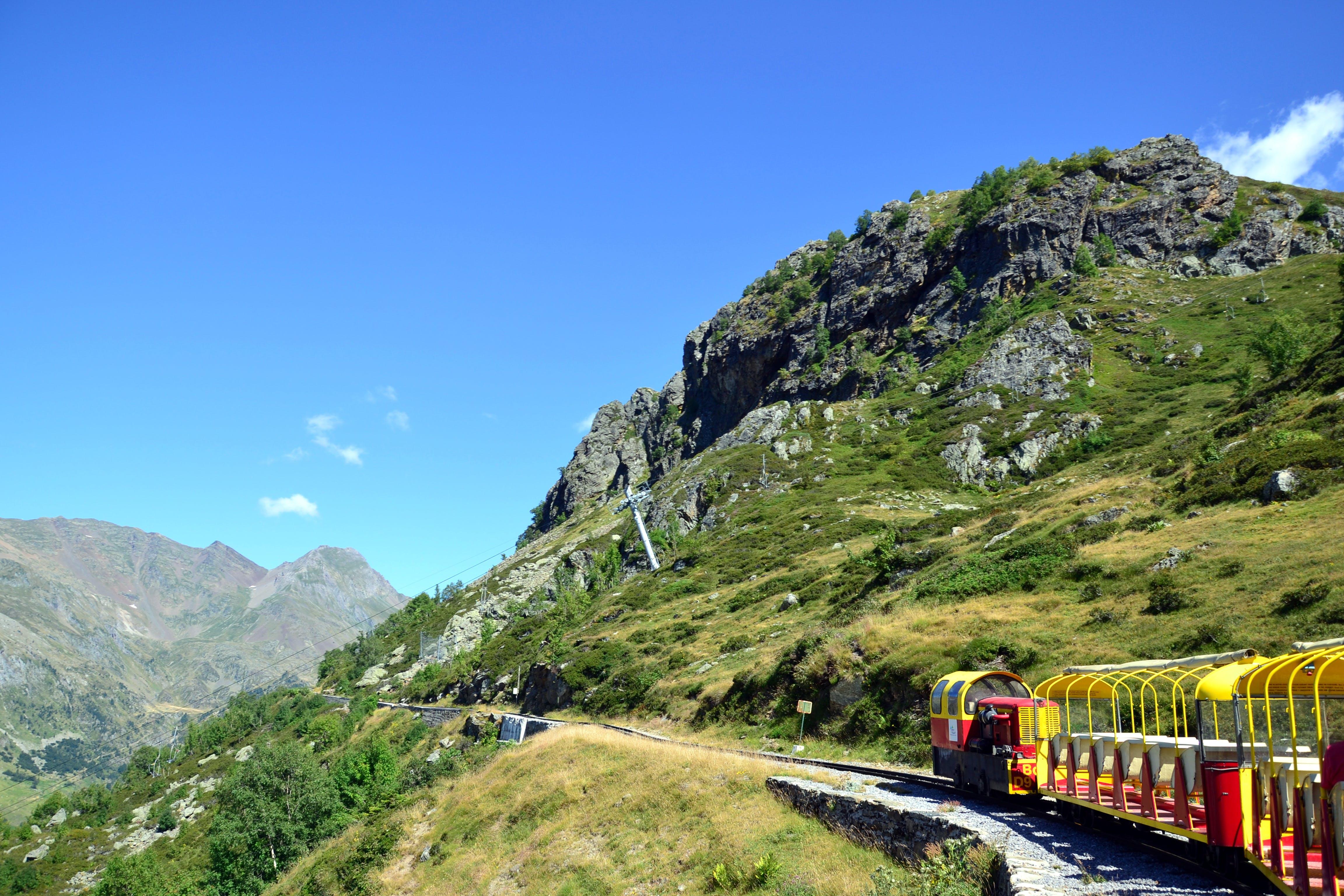 Free stock photo of Artouste, mountain, pyrenees, train
