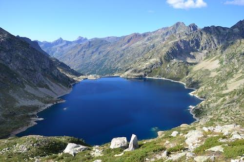 夏天, 山, 山谷, 岩石 的 免費圖庫相片