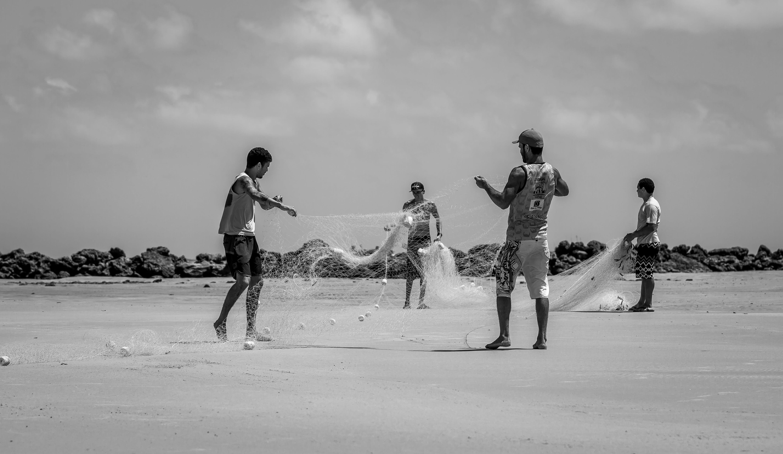 Free stock photo of black and white, black and-white, black&white, fisher