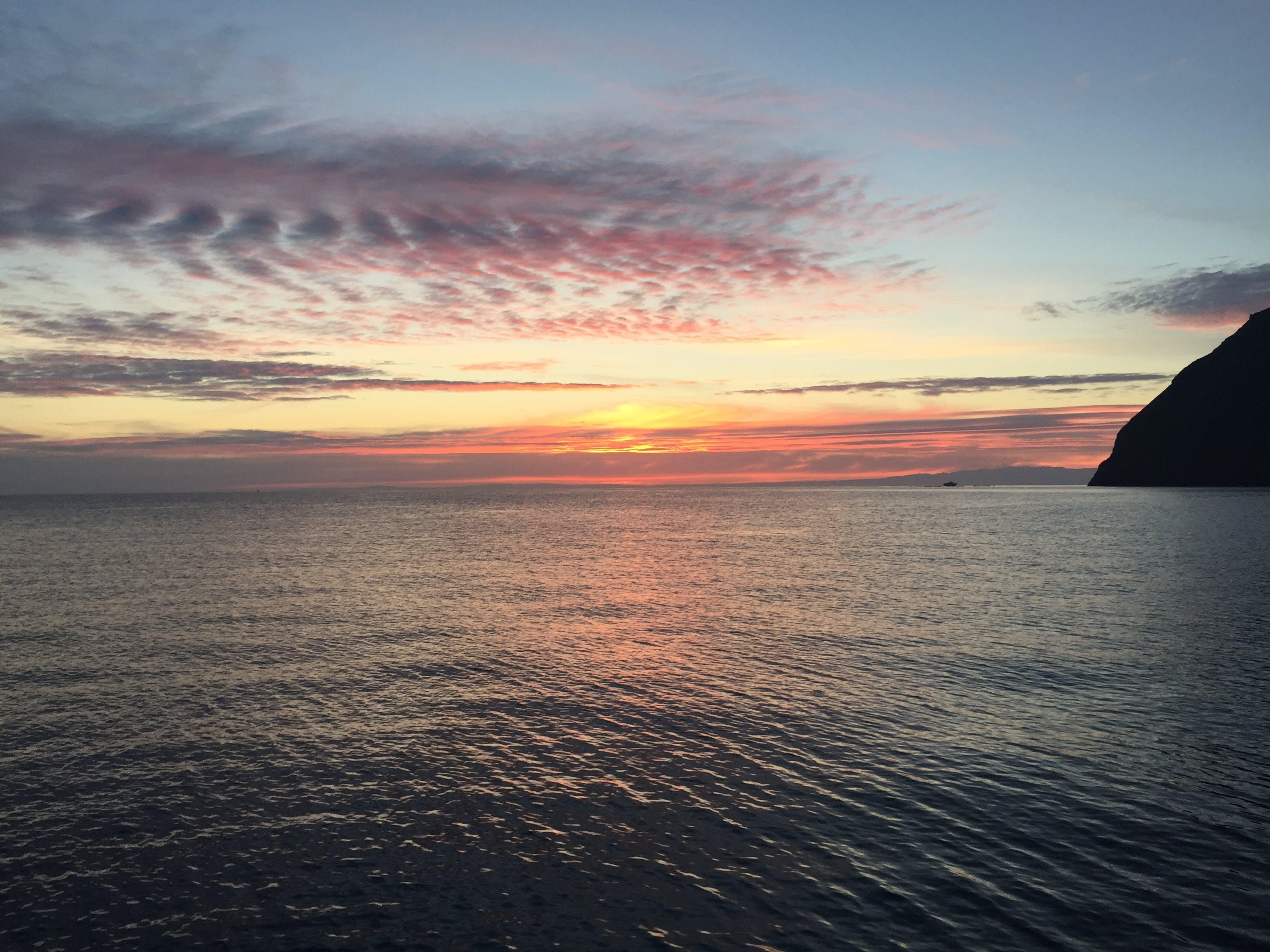 Free stock photo of beach, beach break, cloud formation, morning sun