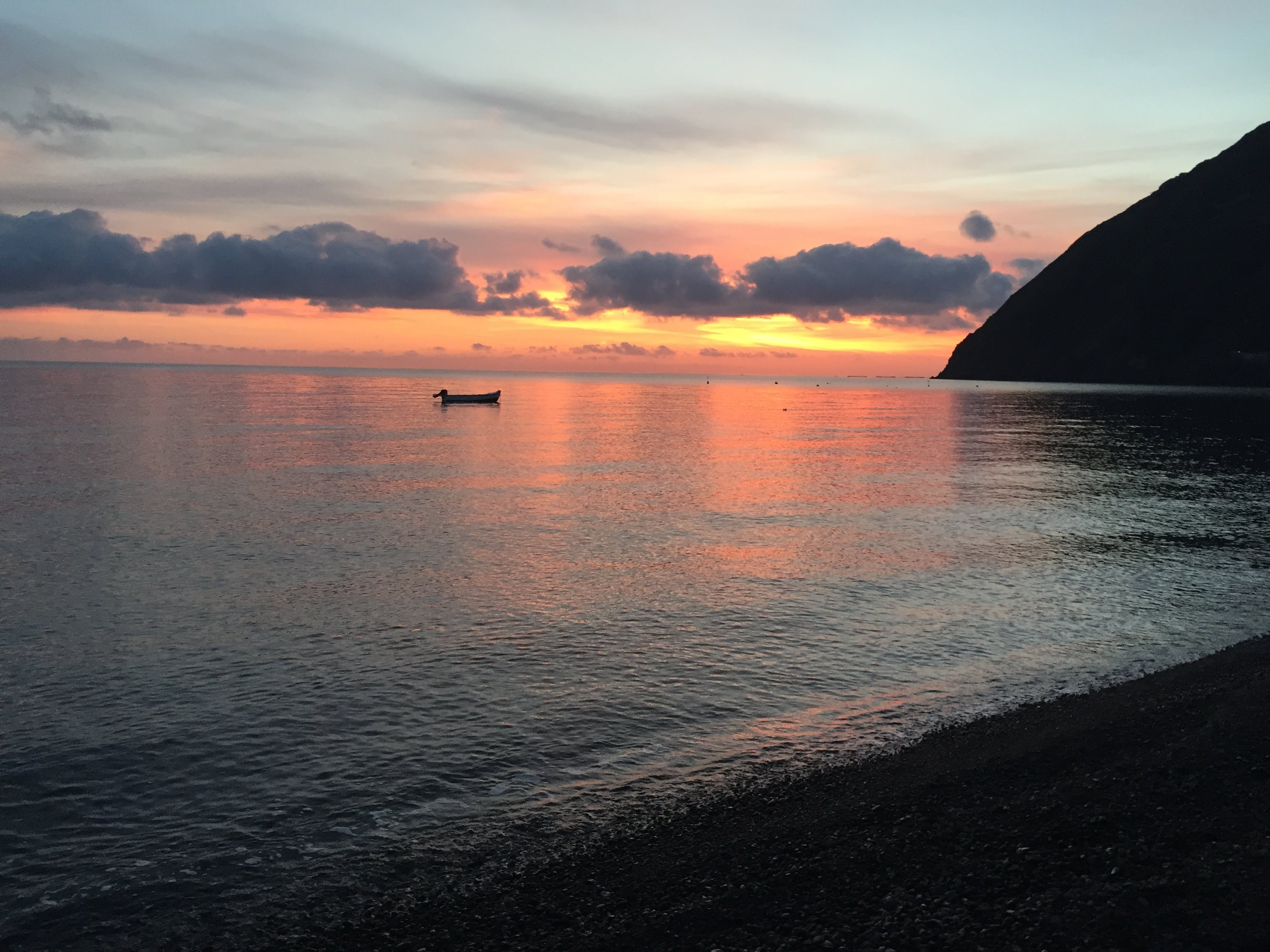 Free stock photo of beach, beach break, cloud, morning sun