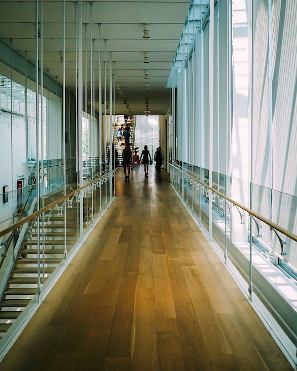 adentro, arquitectura, artículos de cristal