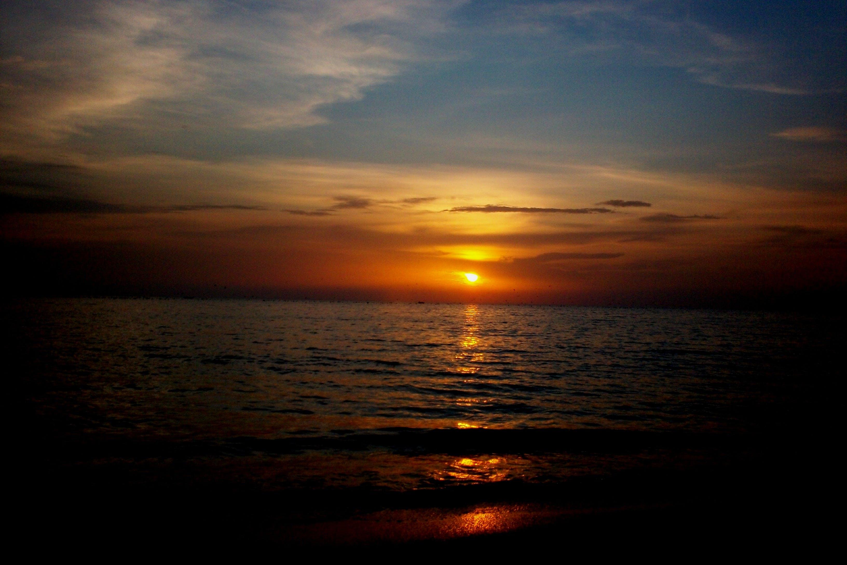 Free stock photo of beach, ocean, sea, sunset