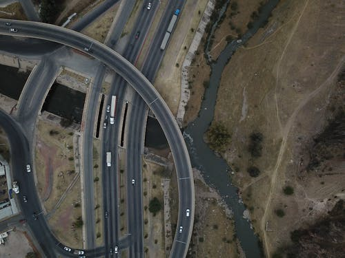 Photos gratuites de autoroute, dron chihuhua