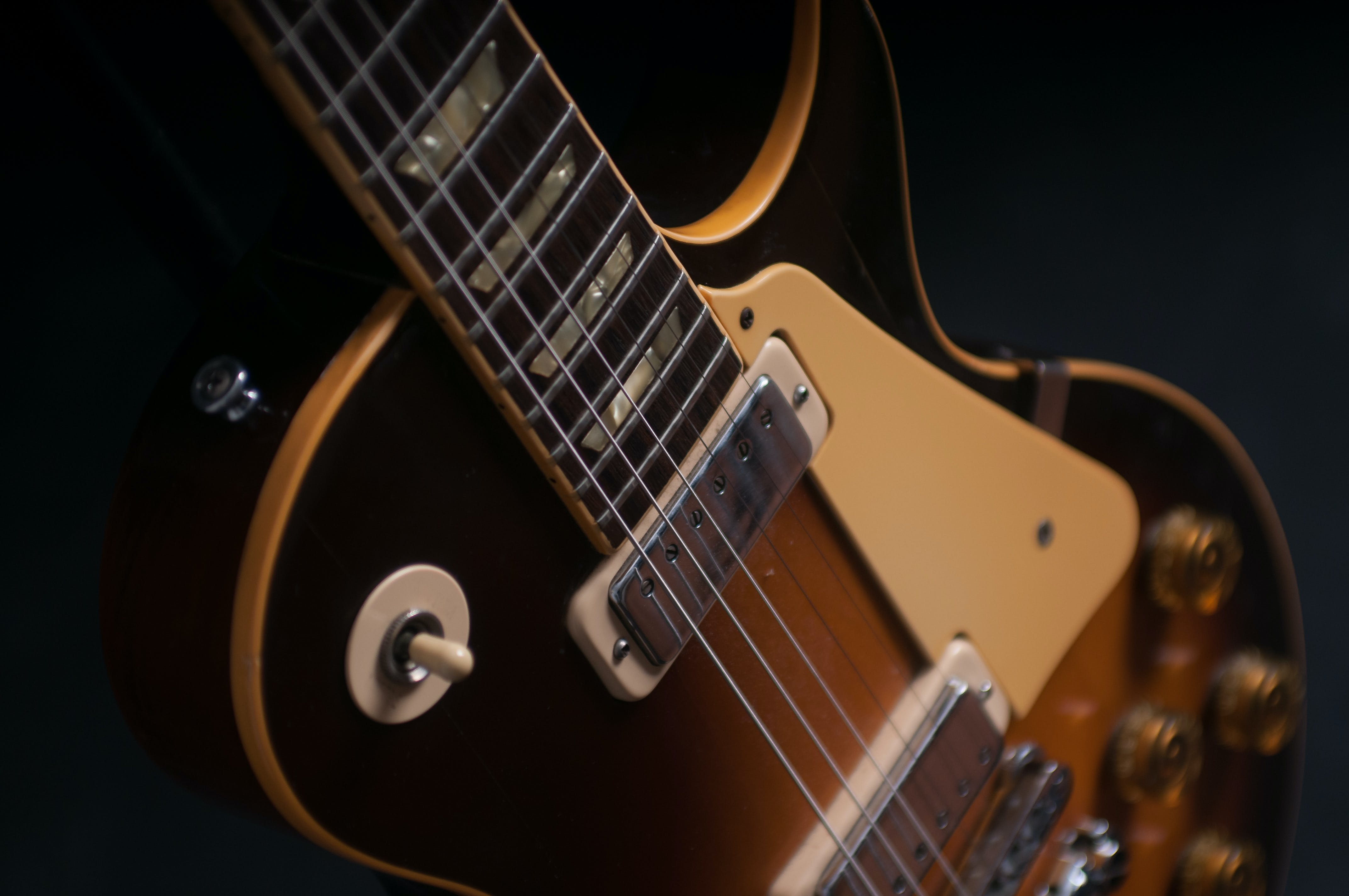 Free stock photo of electric guitar, guitar, Les paul 72 deluxe