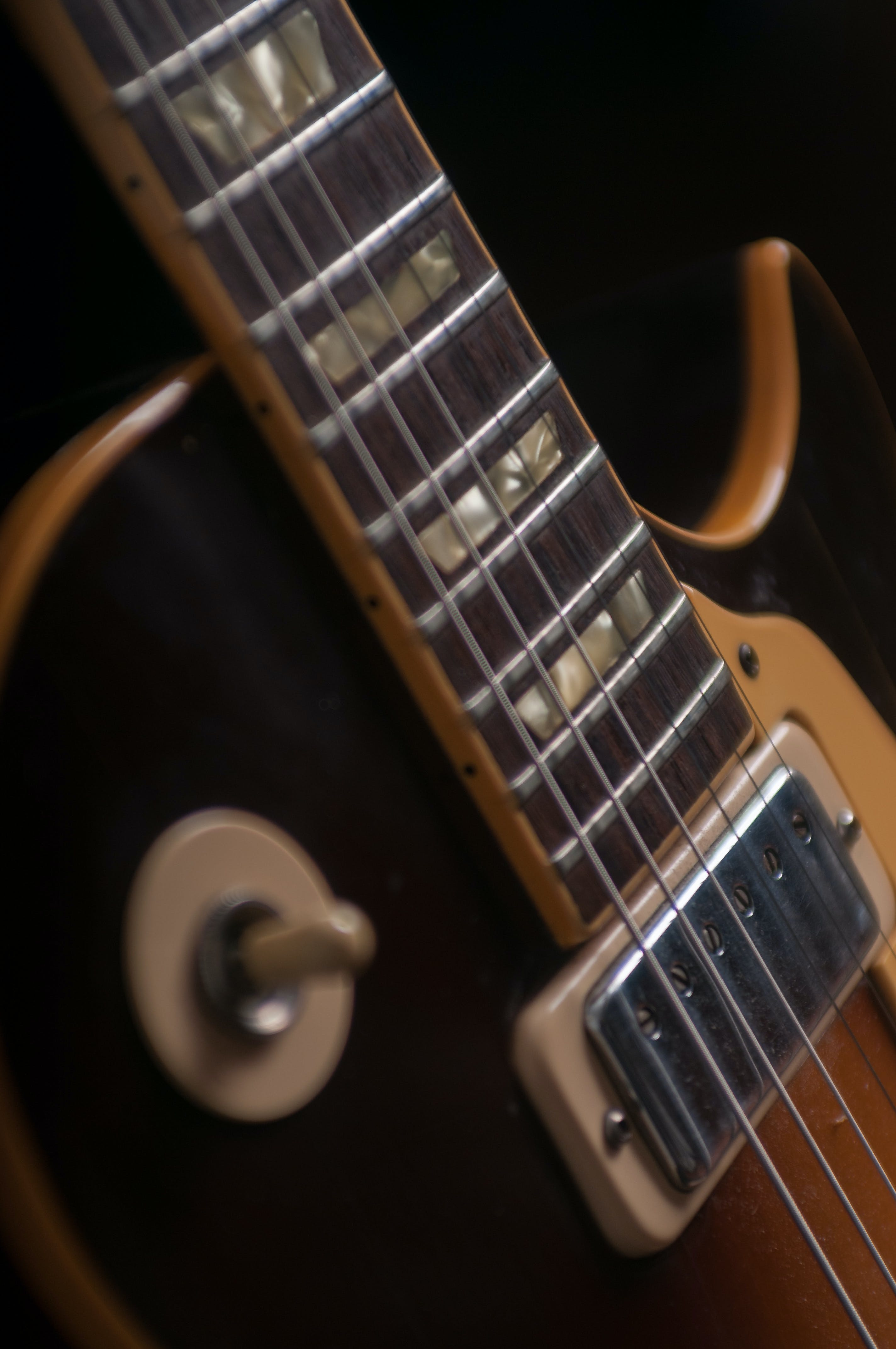 Free stock photo of electric guitar, Les paul 72 deluxe