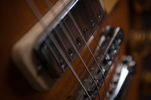 Photos gratuites de guitare électrique, les paul 72 deluxe