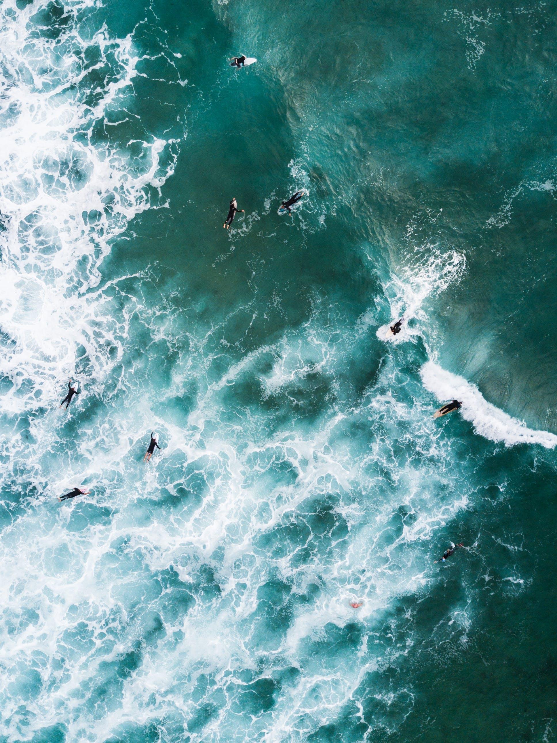 คลังภาพถ่ายฟรี ของ กีฬา, ชายทะเล, ตอนกลางวัน, ทะเล