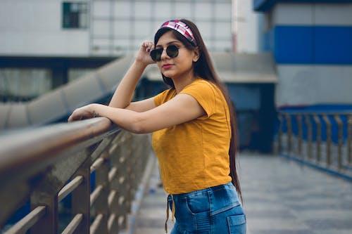 Základová fotografie zdarma na téma brunetka, fashion modelka, focení, móda