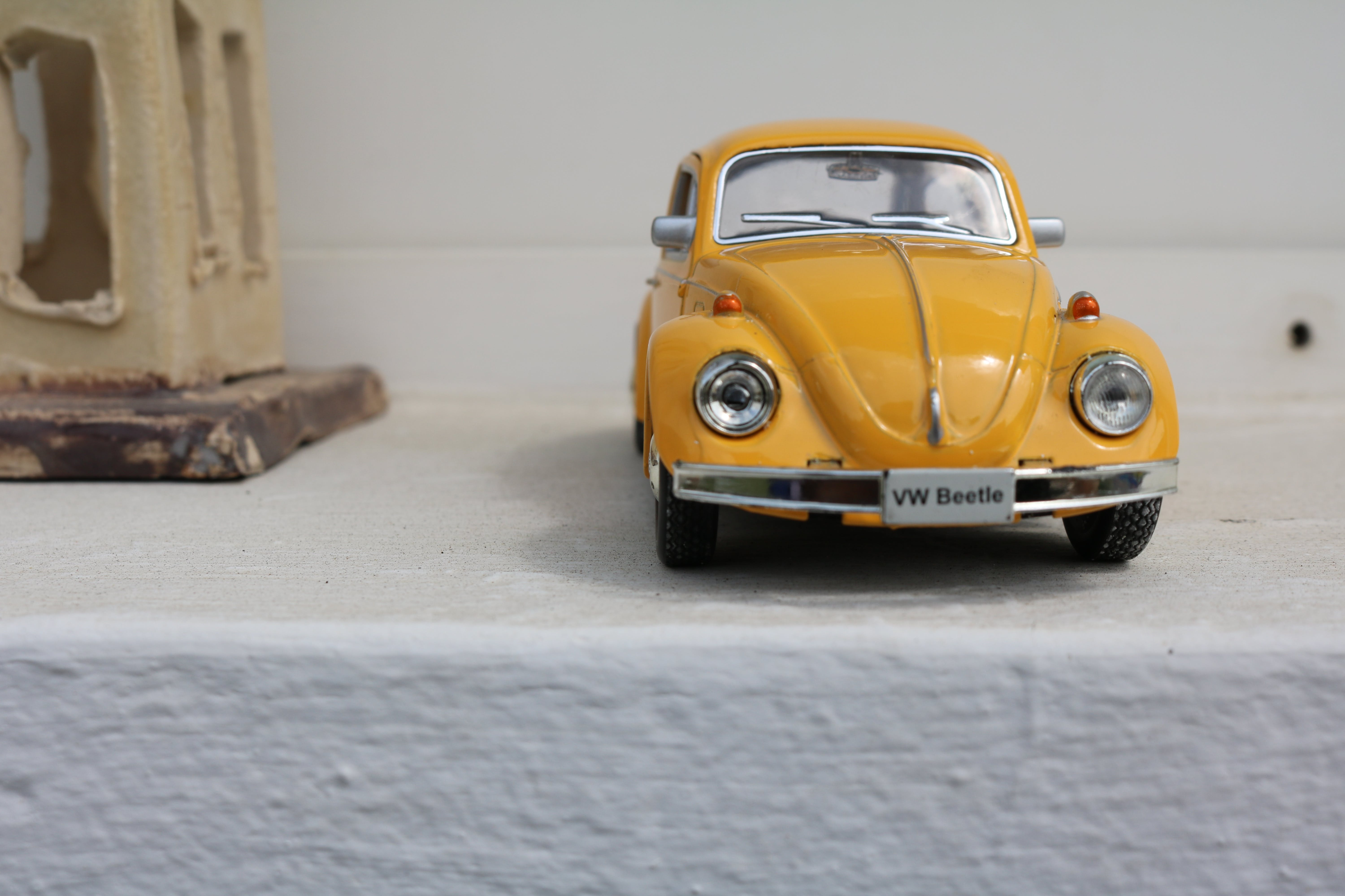 Free stock photo of beetle, bubble car, kids toy, miniature