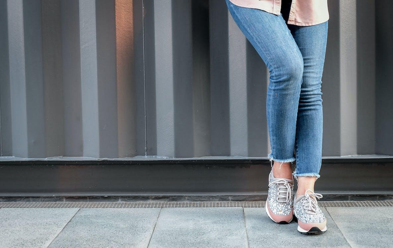 baskets, chaussures, décontracté