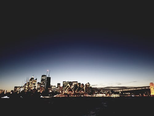 Gratis stockfoto met architectuur, attractie, Australië, avond