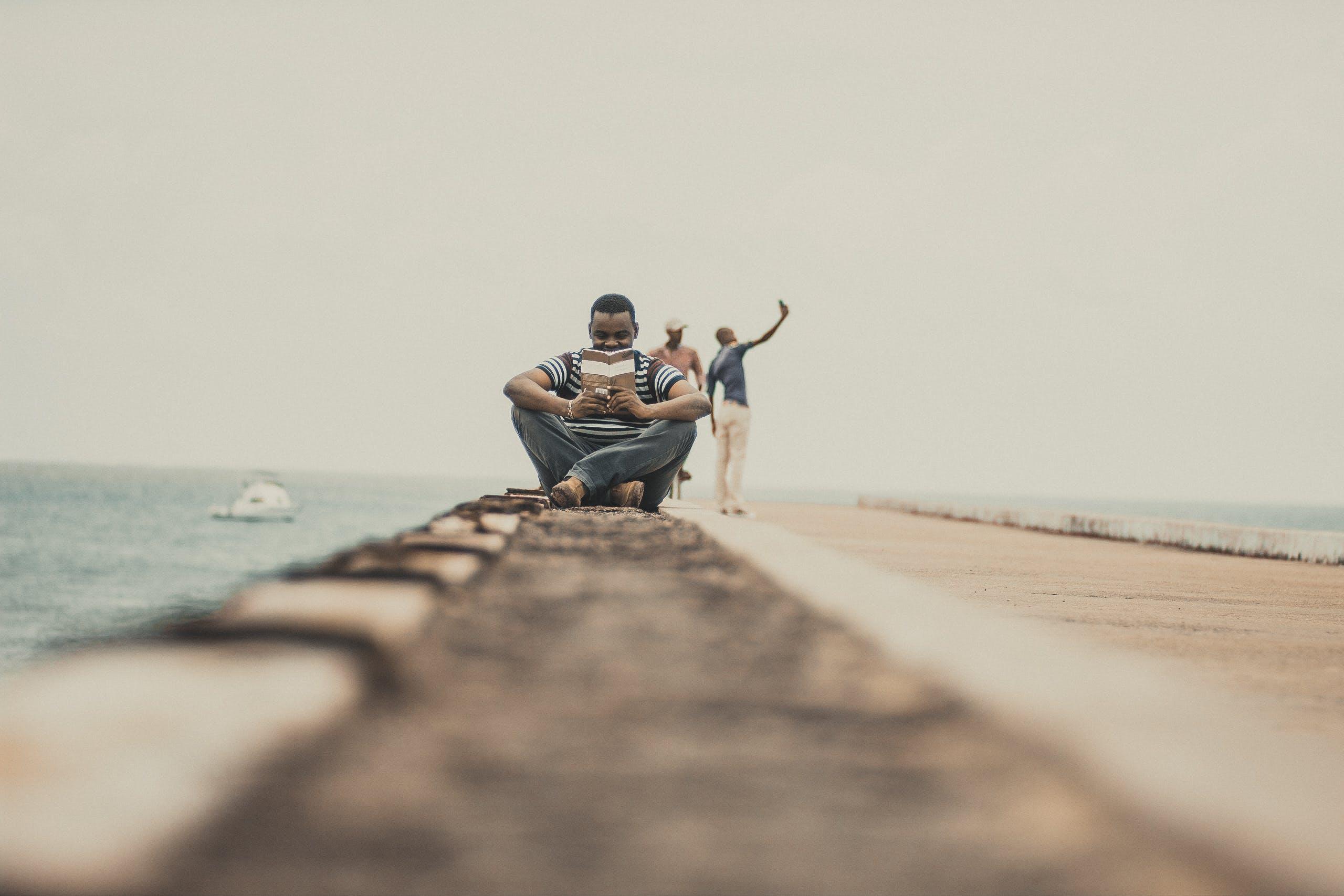 Foto stok gratis Afrika, Kenya, laki-laki, laut