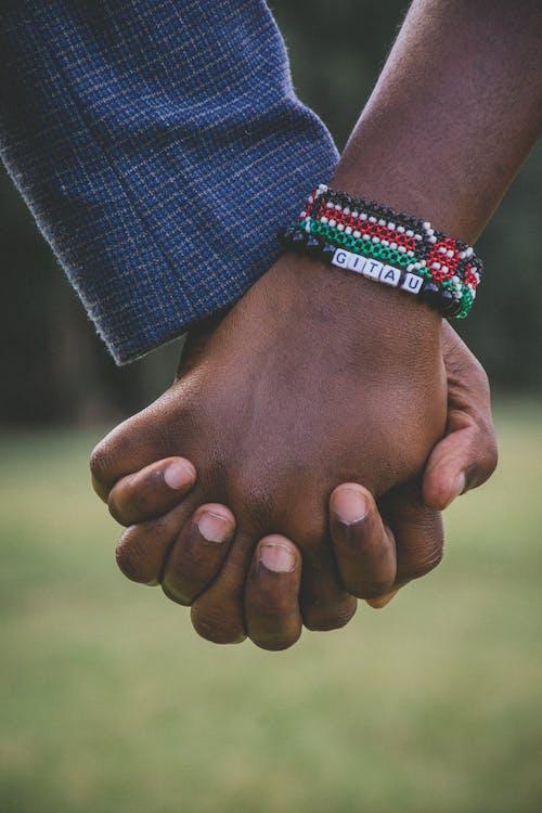 afrika, armbånd, hender