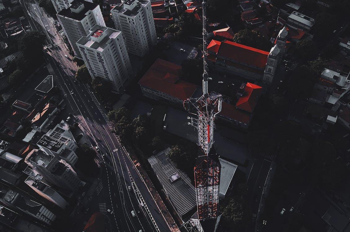 건물, 도시, 도시 풍경