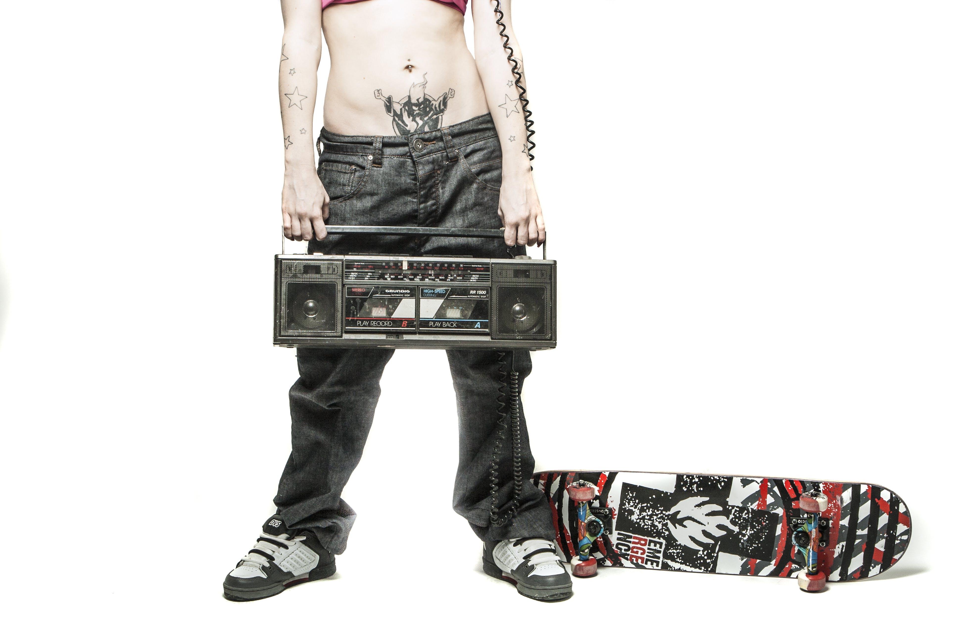 alternative, boombox, cassette