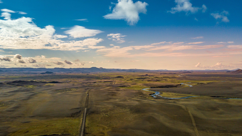 Gratis lagerfoto af bjerg, dronefotografering, dronekamera, droneoptagelse
