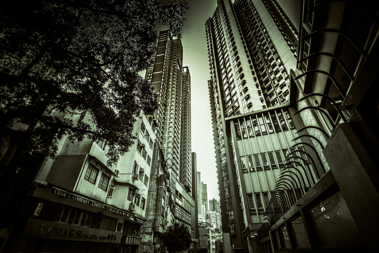 Free stock photo of city, city center, hong kong, skyscraper