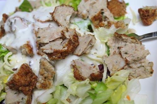 Ingyenes stockfotó hús, saláta, vacsora témában