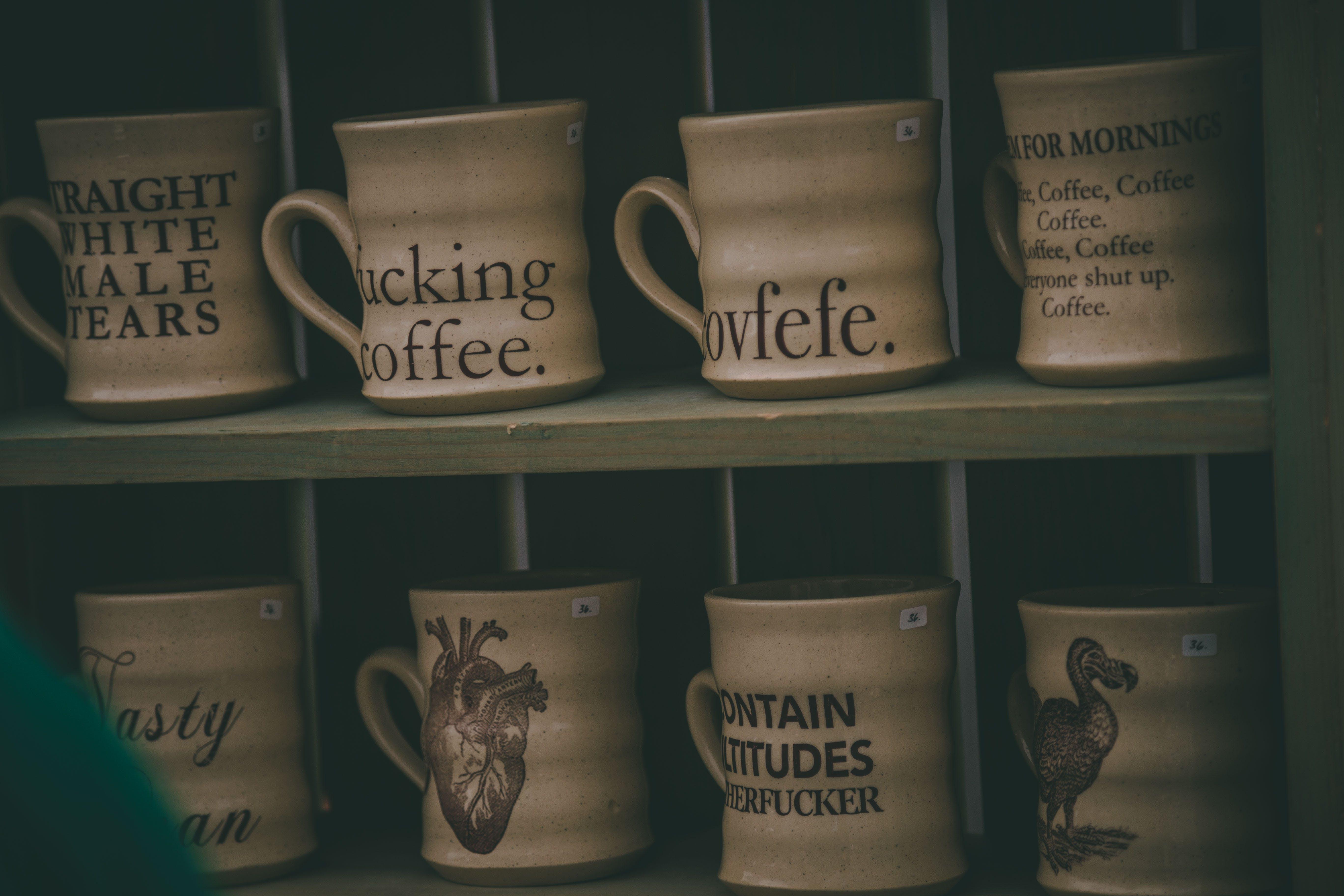 Free stock photo of art, artist, bowls, coffee