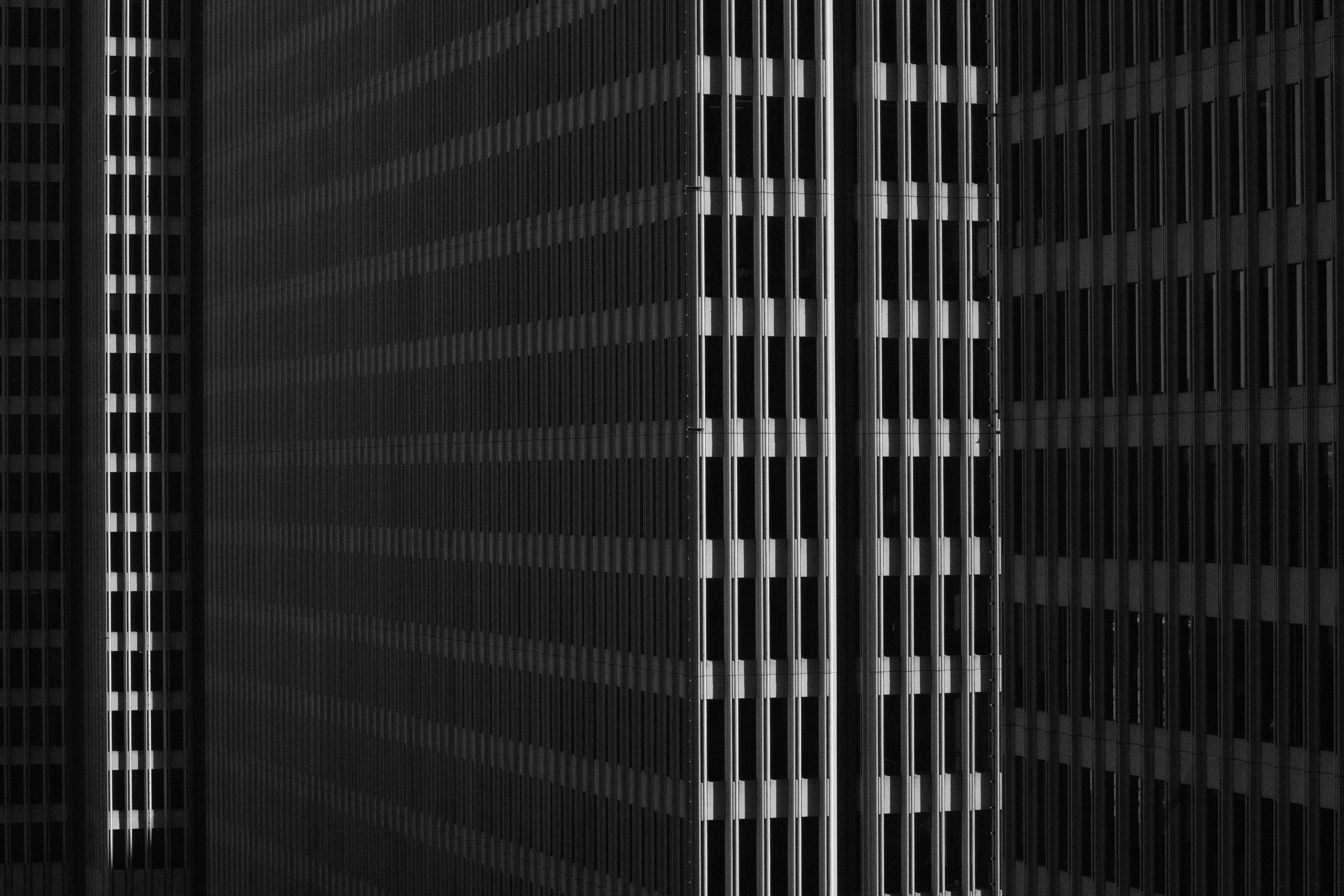 Free stock photo of architectural design, architecture, black and white, buildings