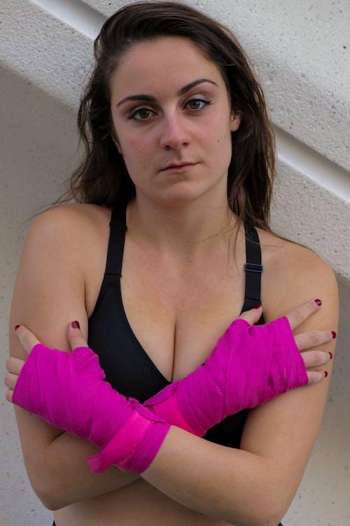 Бесплатное стоковое фото с бокс, боксерские перчатки, женская модная одежда, женщины