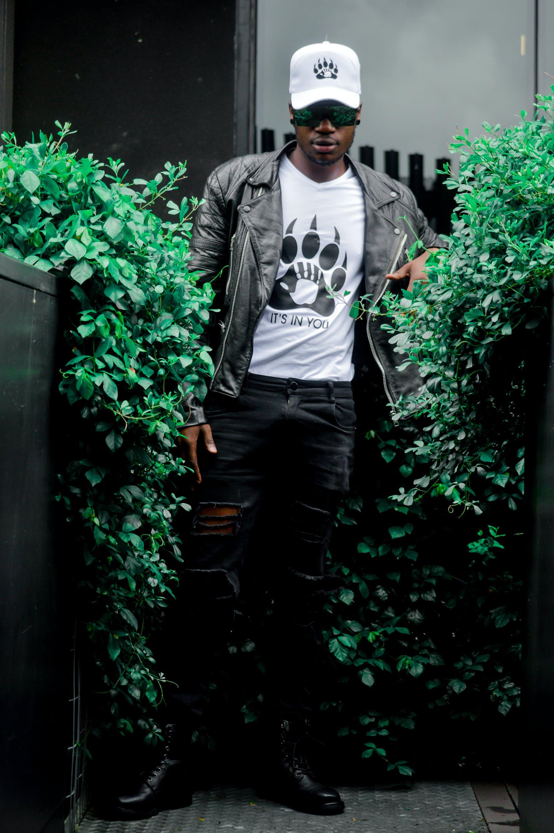Free stock photo of african american man, african man, big trees, black man