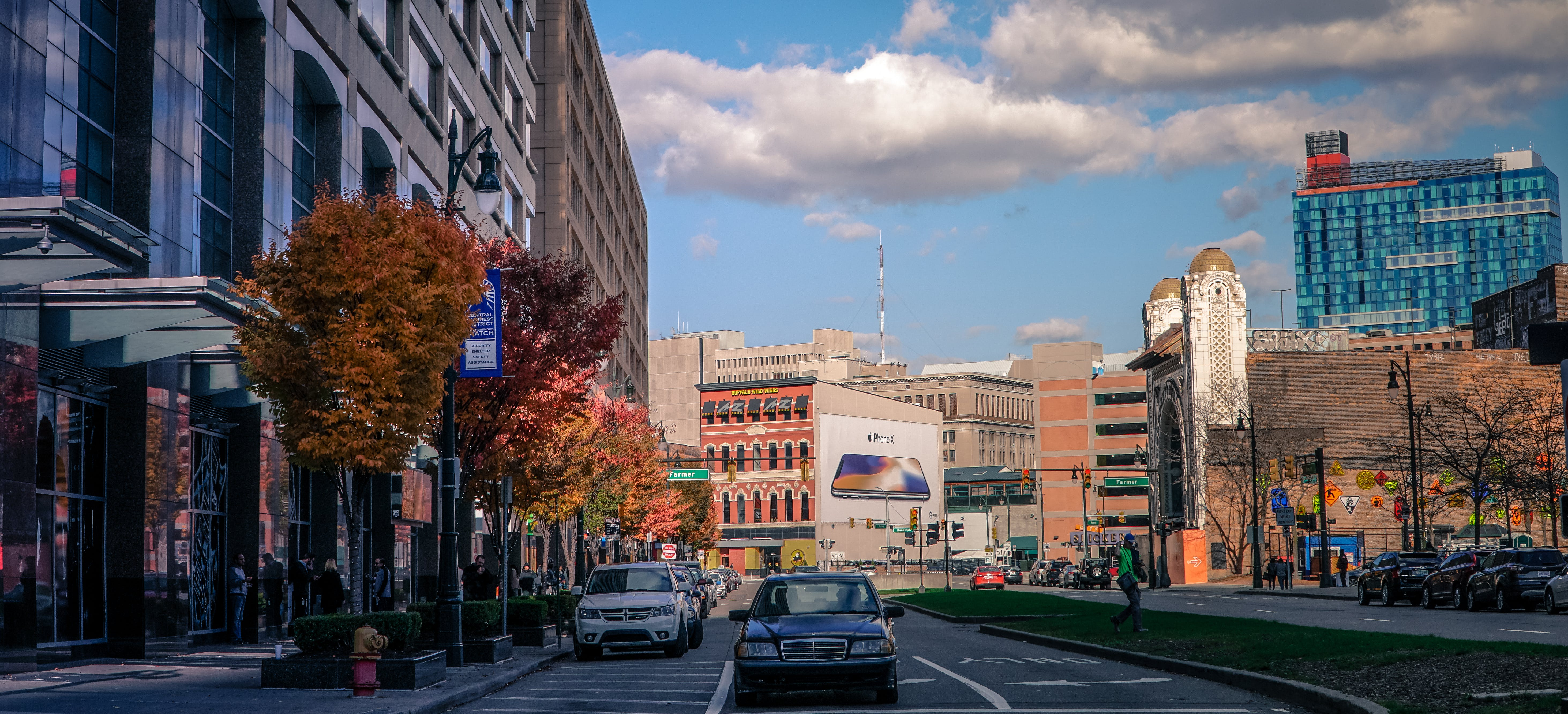 Free stock photo of big city, city center, detroit, downtown