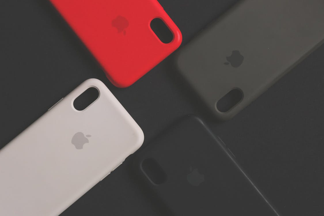 Four Assorted Iphone Cases