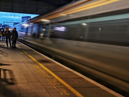 Free stock photo of commute, ireland, irish rail, long exposure