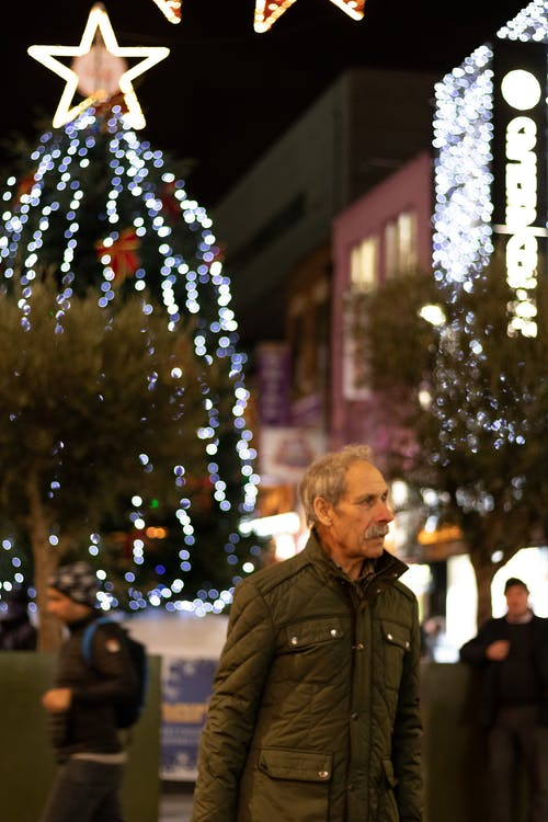 Free stock photo of candid, christmas, portrait, shopping
