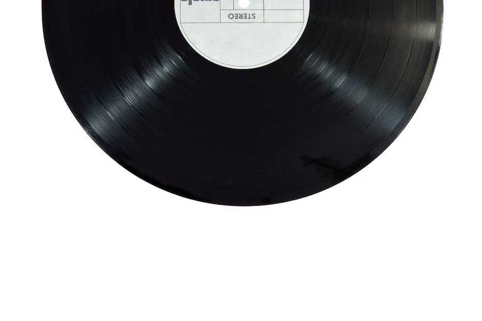 album, aufzeichnen, klang