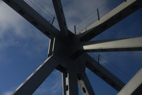 Foto stok gratis arsitektur logam, jembatan, jembatan amerika, kanal panama