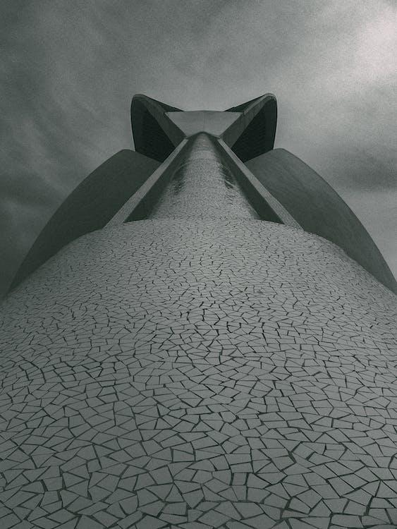 arquitectura, art, blanc i negre