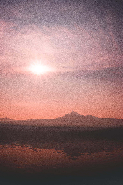 คลังภาพถ่ายฟรี ของ การถ่ายภาพธรรมชาติ, ดวงอาทิตย์, ตะวันลับฟ้า, ท้องฟ้า