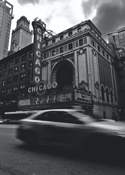 The Chicago Theatre in Illinois