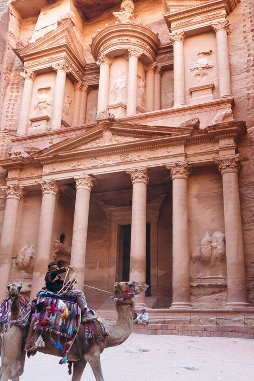 Foto stok gratis Arsitektur, binatang, fasad, kuno