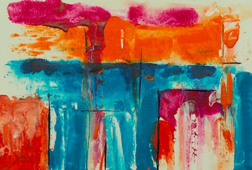 Ảnh lưu trữ miễn phí về bức họa, bức tranh trừu tượng, cận cảnh, Đầy màu sắc