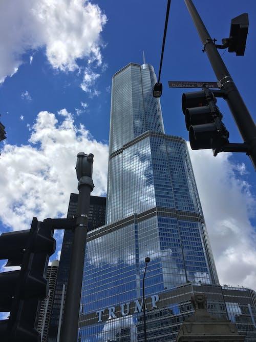 Gratis lagerfoto af chicago, downtown, trump